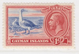British Colony Cayman Islands 1935 1d MH* Stamp A22P19F8946