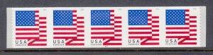 USA PNC SC# 5261 FLAG FOREVER $0.55c. PL# B1111 S. A.- MNH - PNC5