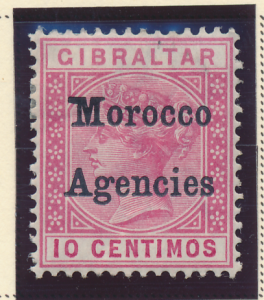 Great Britain, Offices In Morocco Stamp Scott #13, Mint Hinged - Free U.S. Sh...