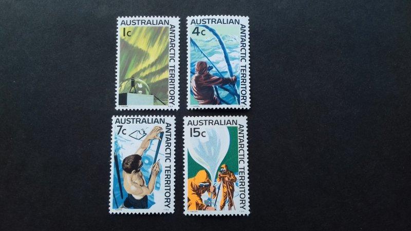 Australian Antarctic 1966 Research in Antarctica  Unused