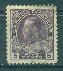 Canada sc# 112 used cat value $1.00