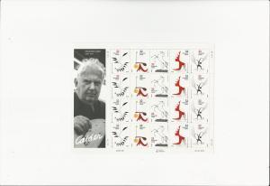 Alexander Calder - sculptor  Scott #3202