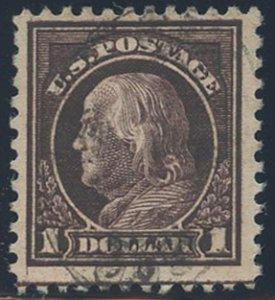 US Scott #518, Used, FVF