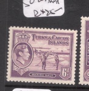 Turks & Caicos SG 201 MNH (4dek)