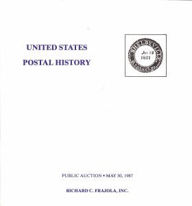 Frajola: Sale # 32  -  United States Postal History, Fraj...