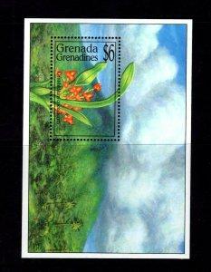 Grenada - Grenadines #1676 (1994 Orchid sheet) VFMNH CV $5.00