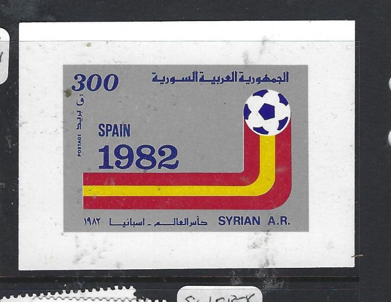 SYRIA   (PP2609B)  WORLD CUP FOOTBALL   SG MS 1528  MNH