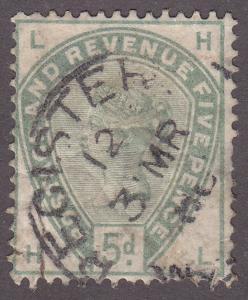 Great Britain 104  Queen Victoria 1884