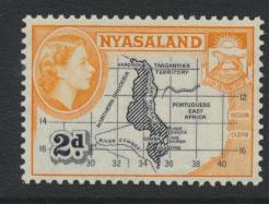 Nyasaland SG 176    Mint  hinged