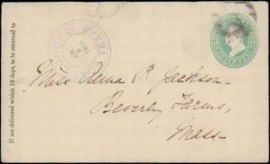 TEXAS TOM GREEN COUNTY (1883 Fort Concho) DPO 1868-1884 #937