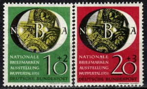 Germany #B318-9 F-VF Unused CV $28.50 (X971)