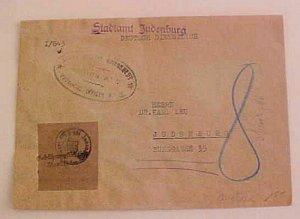 AUSTRIA  JEWISH 1945 JUDENBURG PROVIDENCIAL OFFICER