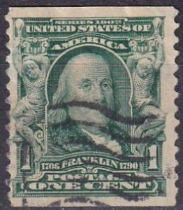 US #318 F-VF Used (A19291)