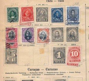 South Central America Costa Haiti Uruguay OLD M&U (Appx 200 Items) (NT545