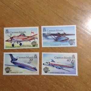 Cayman Islands  # 514-17  MNH