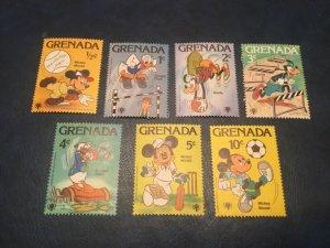 ICOLLECTZONE Grenada #950-956 VF NH Disney (Bk1-36)