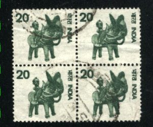 India 672   Block used  1975-88 PD
