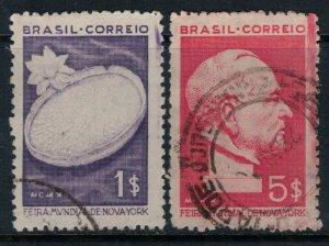 Brazil #496-7  CV $11.75