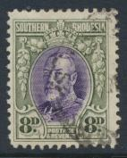 Southern Rhodesia  SG 21  SC# 23   Used  perf 12 see details