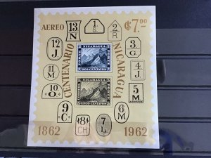 Nicaragua 1962 mint never hinged  stamps sheet  R24847