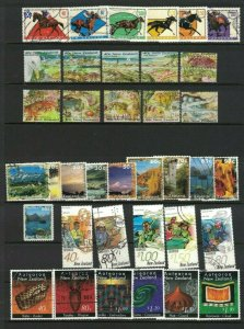 MNZ73) New Zealand 1996 Stamp Sets CTO/Used