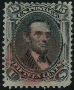 MALACK 91 Fine+, fresh stamp, nice red cancel, CHOICE! t155