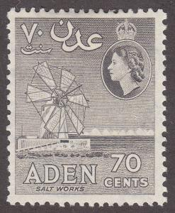 Aden 54 Hinged 1953 Salt Works
