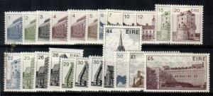 Ireland Scott 537-56,540a,550d,552a Mint NH (Catalog Value $90.00)