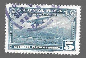 Costa Rica 1952 - U - Scott #C216