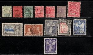 BRITISH GUIANA Small Lot Of Used Issues - Good Value