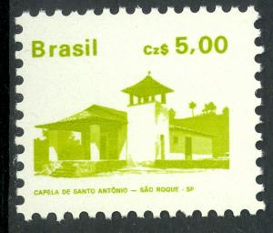 BRAZIL 1986-88 5cz Architecture Series Scott No. 2067 MNH