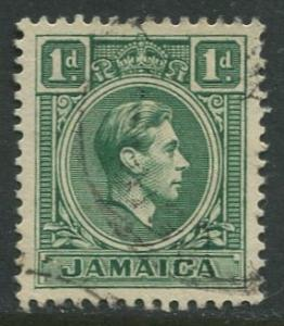 Jamaica -Scott 149 - KGVI Definitive -1951 - Used - Single 1p Stamp
