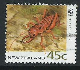 New Zealand SG 1740 VFU