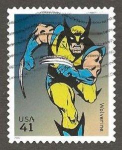 US#4159j 2007 41c Wolverine, Superb Used * #S17