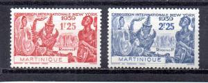 Martinique 186-187 MH