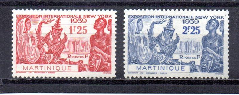Martinique 186-187 MH