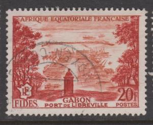 French Equatorial Africa Sc#192 Used