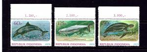 Indonesia 1064-66 MNH 1978 Wildlife Protection