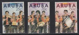 Aruba # 46-48, Band Members, Playing, NH, 1/2 Cat.
