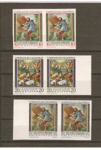 Colombia St. Isidore the farmer, imperforate