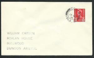 GB SCOTLAND 1970 cover COLL / ISLE OF cds..................................66581