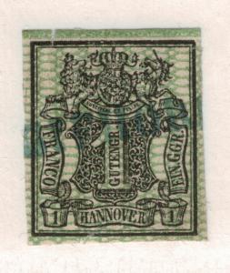 Hannover (German State) Stamp Scott #11, Used - Free U.S. Shipping, Free Worl...