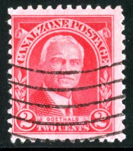 Canal Zone - SC #106 - Used - 1928-40 - Item CZ013