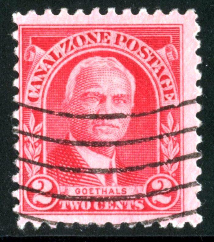 Canal Zone - SC #106 - Used - 1928-40 - Item CZ013