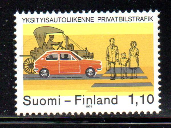Finland Sc 624 1979 Road Safety stamp NH