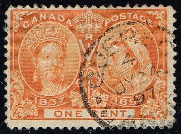 Canada #51 Victoria Jubilee; Used (8.00)