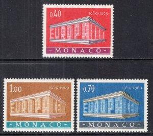 Monaco 722-724 Europa MNH VF