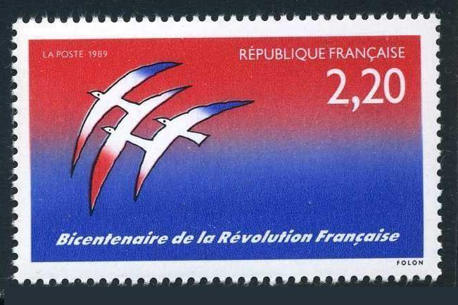 France 2139,MNH.Michel 2696. French Revolution,bicentennial,1989.