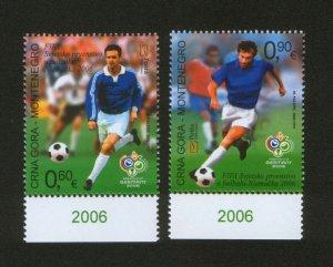 MONTENEGRO-MNH** SET-FIFA WORLD CUP GERMANY 2006.