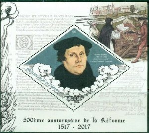 2017 MS 500th Anniversary of Reformation Religion Martin Luther 400282